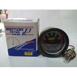 เกจวัดโวล์ท 12V MOTOR METER RACING