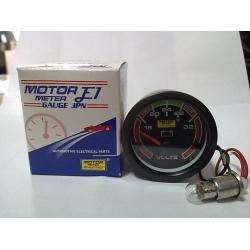 เกจวัดโวล์ท 24V MOTOR METER RACING