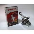 หลอดไฟหน้า PHYLLIS H4 24V 75/70W