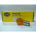 หลอดไฟ HELLA 12V 21W เขี้ยวเหลือง
