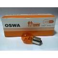 หลอดไฟ OSWA 12V 25W สีเหลือง เขี้ยวเยื้อง