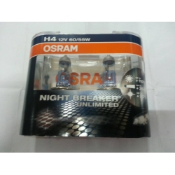 OSRAM NIGHT BREAKER UNLIMITED  H4 12V 60/55W