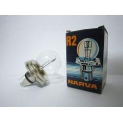 หลอดไฟหน้าฐานกลม NARVA R2 12V 75/75W