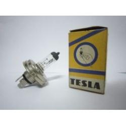 หลอดไฟหน้าฐานกลม TESLA H4 12V 60/55W