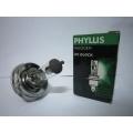 หลอดไฟหน้าฐานกลม PHYLLIS H4 24V 75/70W