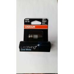 OSRAM LEDriving COOL WHITE C5W 12V1W